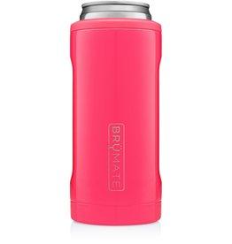 BRUMATE LLC Hopsulator Slim Neon Pink 12oz