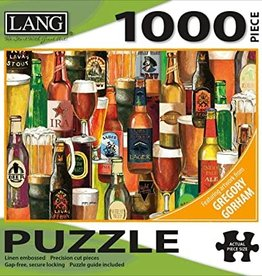 LANG COMPANIES Crafted Brews 1000 Piece Puzzle