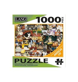 LANG COMPANIES American Cat 1000pc Puzzle
