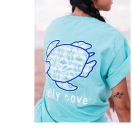 SHELLY COVE Island Marina Short Sleeve T-Shirt