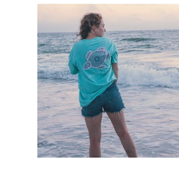 SHELLY COVE Summer Boho Short Sleeve T-Shirt