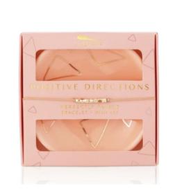 LUCKY FEATHER Bracelet & Dish Set Positive Directions