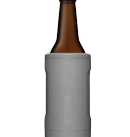 BRUMATE LLC Hopsulator Bott'l  Gray 12 oz Bottle