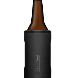 BRUMATE LLC Hopsulator Bott'l Matte Black 12 oz Bottle