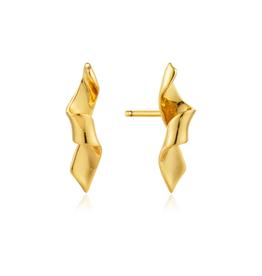 ANIA HAIE Helix Stud Earrings-Gold