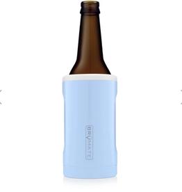 BRUMATE LLC Hopsulator Bottle Blue & White 12 oz Bottle