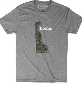THE HOME T Delaware Shirt-Camo/ Grey