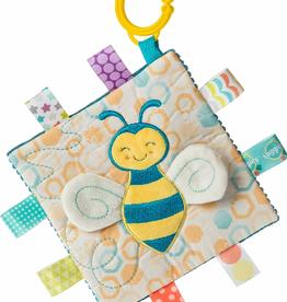MARY MEYER STUFFED TOYS Taggies Crinkle Me Fuzzy Buzzy Bee