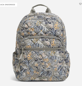 VERA BRADLEY Campus Backpack : Rain Forest Toile