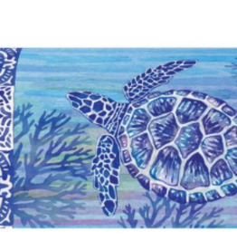 Mailbox Cover Turtle & Tiles