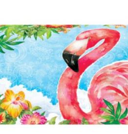 Mailbox Cover Flamingo Flowers