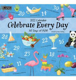 LANG COMPANIES Wall Calendar Celebrate Everyday 2022
