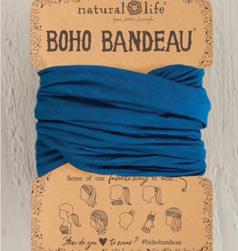 NATURAL LIFE CREATIONS Boho Bandeau Teal