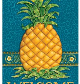 CUSTOM DECOR INC Garden Flag Pineapple Welcome