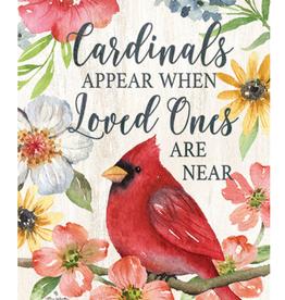 CUSTOM DECOR INC Garden Flag Cardinals Appear