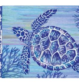 CUSTOM DECOR INC Mat Turtles & Tiles