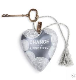 Art Heart Change Is