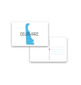 ROCK SCISSOR PAPER Postcard Delaware
