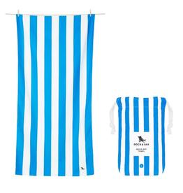 DOCK & BAY Quick Dry Beach Towel Cabana Bondi Blue Large