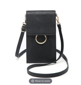 JEN & CO. Cell Phone Bag Ayla w/Flapover Touch Sensitive
