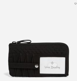 VERA BRADLEY Iconic RFID Ultimate Card Case Classic Black