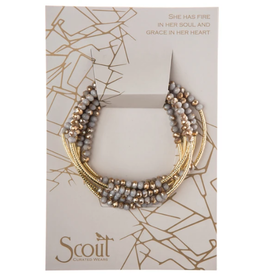 SCOUT CURATED WEARS Scout Wrap Silver Lining Gold