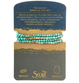 SCOUT CURATED WEARS Turquoise/Gold Stone Of The Sky