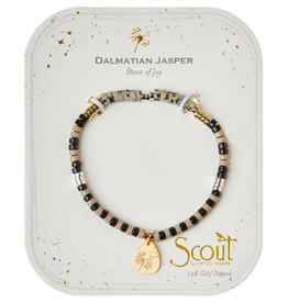 SCOUT CURATED WEARS Stone of Joy - Dalmation Jasper