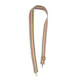 """JOY ACCESSORIES, INC 1.5"""" Embroidered Guitar Strap"""