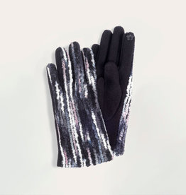 HOWARD'S INC Glove Multi Color Textured