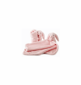 JELLYCAT INC. Bashful Light Pink Bunny Soother