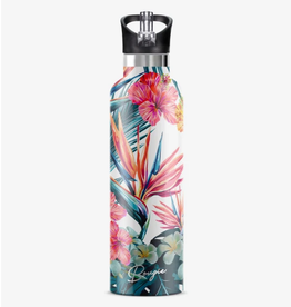 MY BOUGIE BOTTLE Stainless Steel Water Bottle 25 oz. Hibiscus