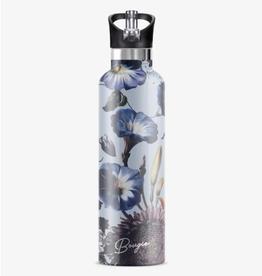 MY BOUGIE BOTTLE Stainless Steel Water Bottle 25 oz. Nordic Fleur