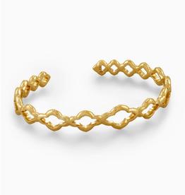 KENDRA SCOTT Abbie Cuff Vintage Gold