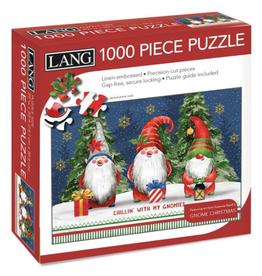 LANG COMPANIES Gnome Christmas Lang 1000 Piece Puzzle