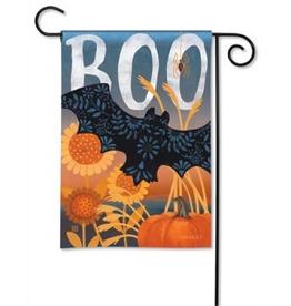 Boo Bat Garden Flag