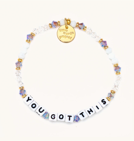 LITTLE WORDS PROJECT Beaded Bracelet You Got This Alpine