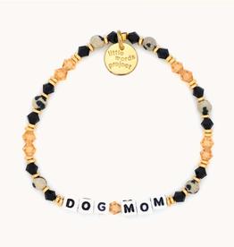 LITTLE WORDS PROJECT Beaded Bracelet Dog Mom Pastry