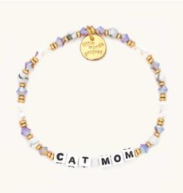 LITTLE WORDS PROJECT Beaded Bracelet Cat Mom Pastry