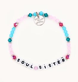 LITTLE WORDS PROJECT Beaded Bracelet Soul Sister