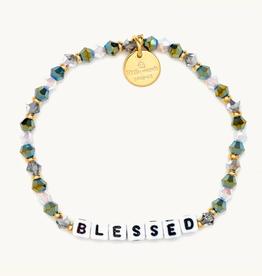 LITTLE WORDS PROJECT Beaded Bracelet Blessed Fairhaven
