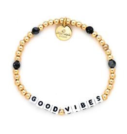 LITTLE WORDS PROJECT Bracelet Beaded Gold Filled: