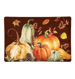 MICHEL DESIGN WORKS Glass Soap Dish Sweet Pumpkin