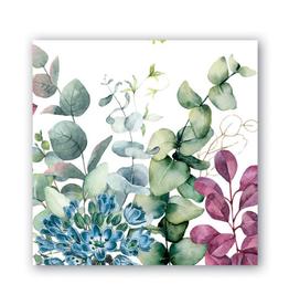 MICHEL DESIGN WORKS Cocktail Napkin Eucalyptus & Mint