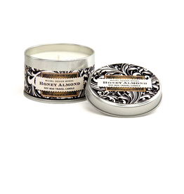 MICHEL DESIGN WORKS 4 oz Travel Candle Honey Almond