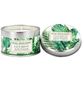 MICHEL DESIGN WORKS 4oz. Travel Candle Palm Breeze