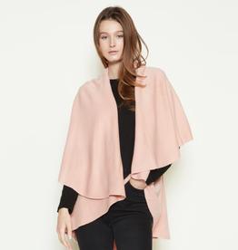 LOOK BY M Basic Shawl Vest Blush