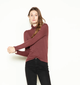 LOOK BY M Inner Basic Sweater Berrry