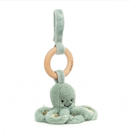 JELLYCAT INC. Odyssey Octopus Wooden Ring Toy