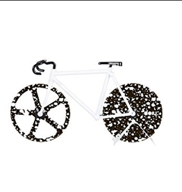 KIMBERLY WAHLBERG COMPANY Pizza Cutter Bicycle The Fixie Stardust